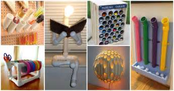 Decorate Your Home For Cheap 45 Creative Uses Of Pvc Pipes In Your Home And Garden