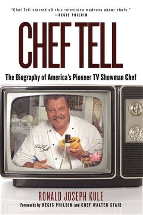 chef the of the deal books chef tell the biography of america s pioneer tv showman