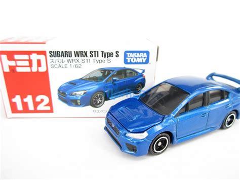 Tomica 112 Subaru Wrx Sti takara tomy tomica 112 subaru wrx sti type s blue scale 1 62 diecast car ebay