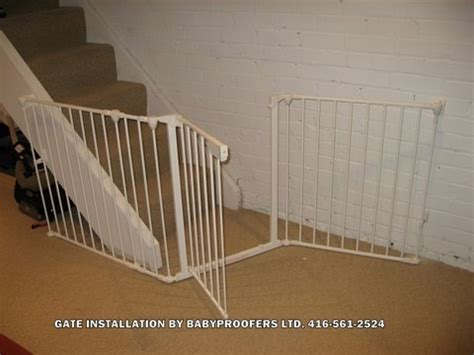 basement gate baby gate for basement stair opening baby gates