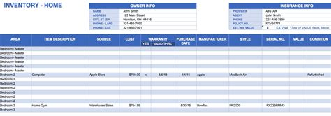 Excel Inventory Template Beepmunk Excel Stock Template