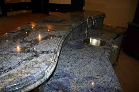 Granite Tile Bar Top by Custom Granite Marble Idea S Fascia Construction Inc