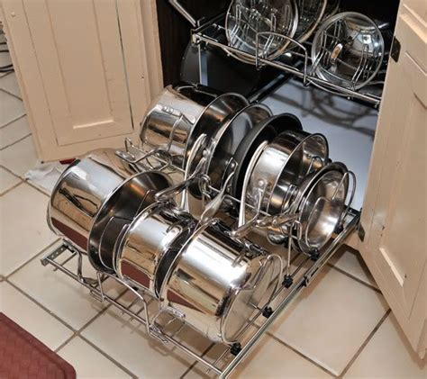 kitchen rev ideas pots pans pullout storage rev a shelf opinions