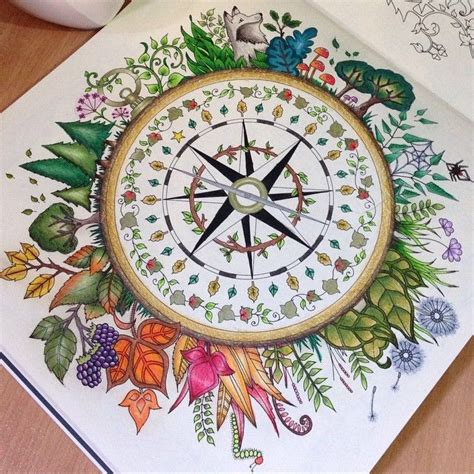 My Craft St7780 Colouring Book Enchanted Forest the enchanted forest coloring book craft diy coloring books johanna basford