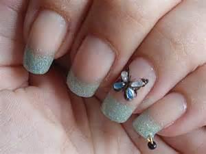 12 colors 120pcs pearl gold nail art dangle ring w bead