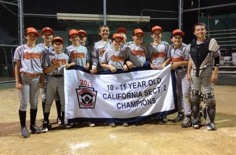 section 2 little league california loco sports arcata little league all stars headed to