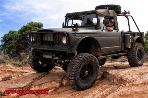 How To Road In A Jeep Mackie S Kaiser Jeep M715 New On The Trail