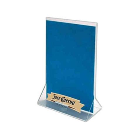 plastic table tents wadayaneed plastic table tents custom imprinted with