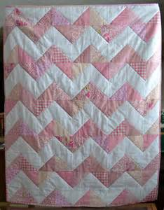 magpie quilts pink chevron quilt tutorial