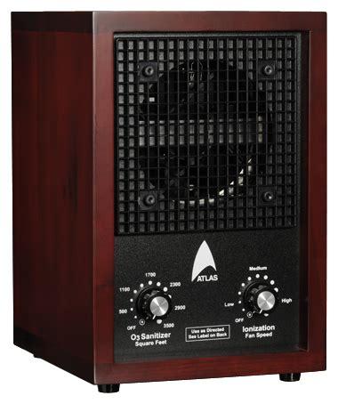 atlas  ionic air purifier ozone ionizer breezer