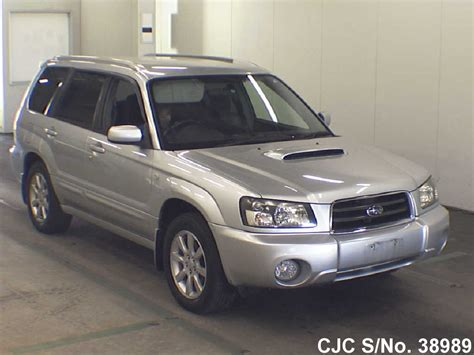 2004 Subaru Forester For Sale by 2004 Subaru Forester Silver For Sale Stock No 38989