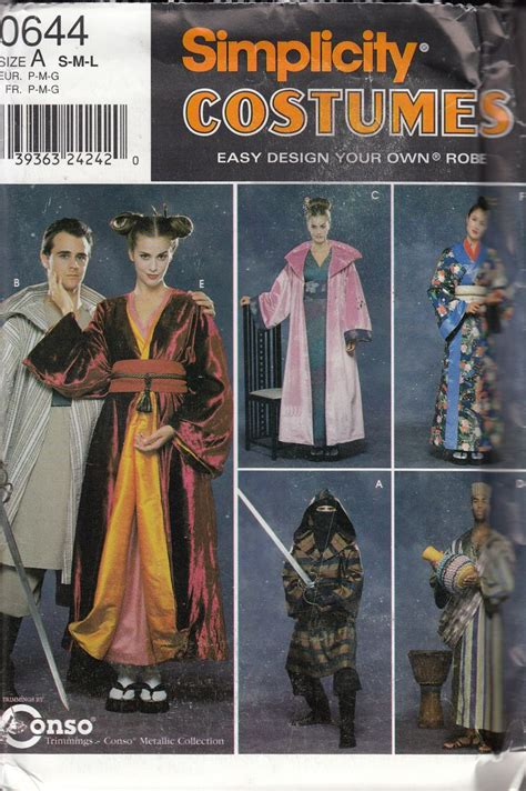 ninja costume pattern simplicity 8 best geisha asian mulan images on pinterest costume