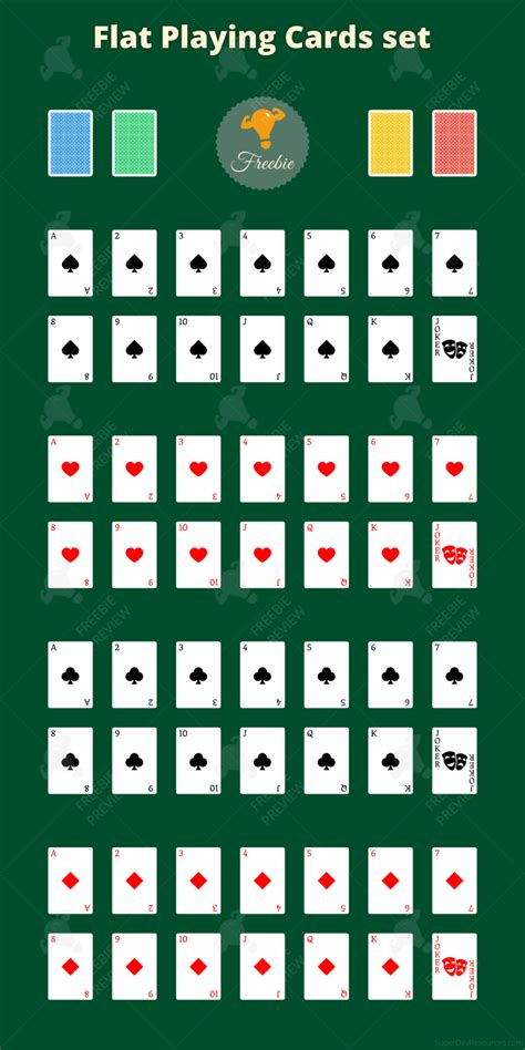 playing cards set png svg super dev resources