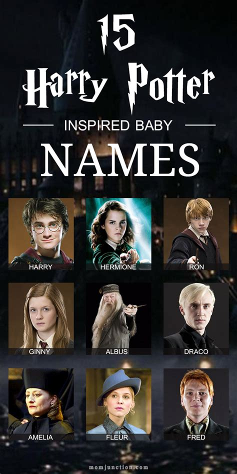 harry potter names 15 coolest harry potter baby names