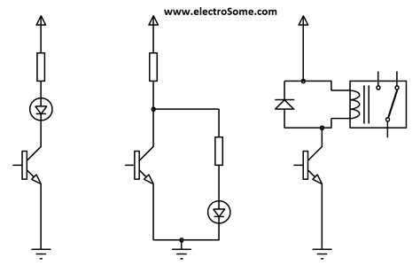 transistor load or switch transistor as a switch