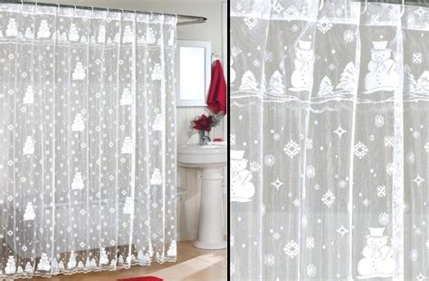 curtains for christmas awesome christmas bathroom decoration home designing
