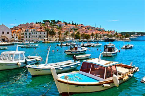 motorboot leihen kroatien bilder von kroatien hvar insel boot motorboot st 228 dte geb 228 ude