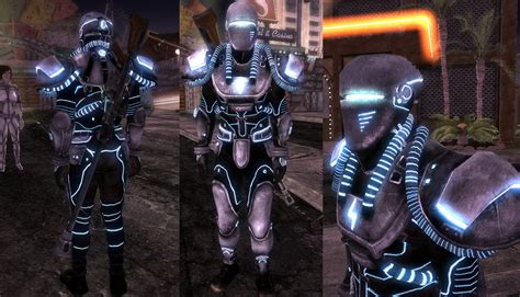 tesla armor classic tesla metal armor at fallout new vegas mods and