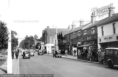 Tattoo London Road Camberley | photo of camberley london road c 1955 francis frith