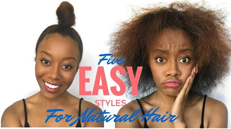 Easy Hairstyles For Beginners by Easy Hair Styles For Beginners