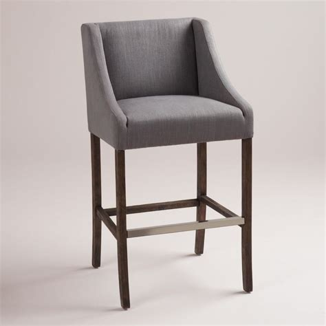Gray Bar Stools Gray Hayden Barstool