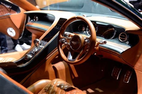 bentley exp 10 interior geneva motor in pictures business the guardian