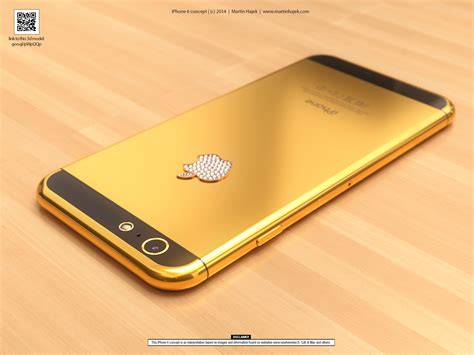 Iphone 6 Di Zalora iphone 6 in oro con mela tempestata di diamanti la fotogalleria macitynet it