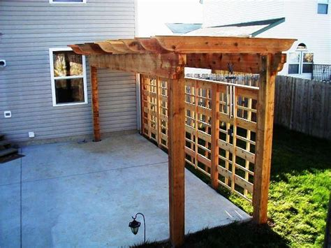 pergola with privacy pin by lindsay orem on exterior design