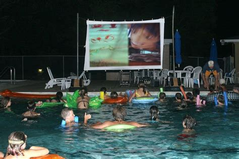 party themes westville host a quot dive in quot movie programming ideas pinterest