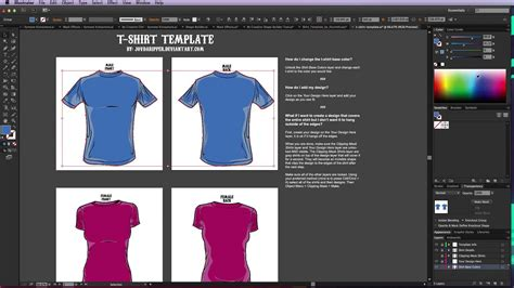 Adobe Illustrator T Shirt Design Template Templates Data Adobe Illustrator T Shirt Template