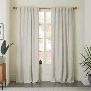 Belgian Linen Curtain In Natural