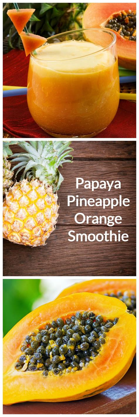 Papaya Seed Detox Recipe by Best 25 Papaya Smoothie Ideas On Papaya Ideas