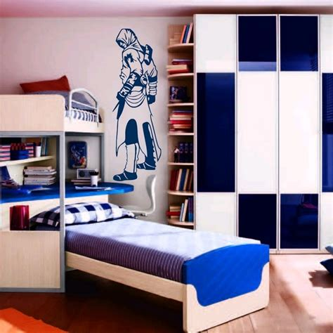 stickers muraux chambre ado gar輟n stickers stickers chambre ado assassin s creed 1