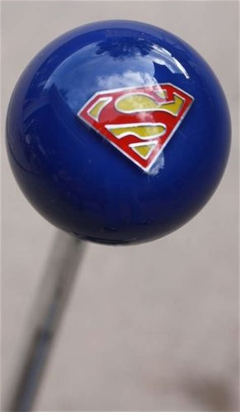 Superman Gear Shift Knob by The World S Catalog Of Ideas