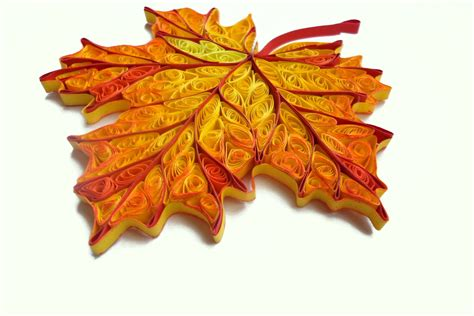 Quilling Home Decor quilled home decor fall decorations autumn by paperdreamland