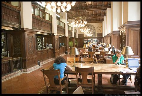 library reading room photograph by philip greenspun new york public library