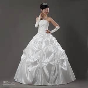 beautiful princess wedding dress with gloves ipunya
