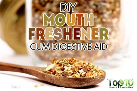 diy freshener to get rid of bad breath and improve