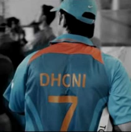 ms dhoni recites poem for ms dhoni the untold story