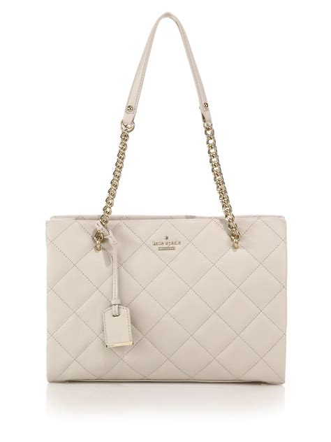 Kate Spade Quilted Bag by Kate Spade New York Emerson Place Quilted Leather Tote In