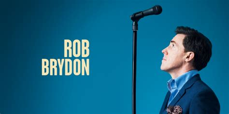 rob tour tickets rob brydon announces three shows for october 18
