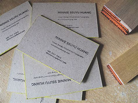 Handmade Cards Business - handmade business cards business cards the design