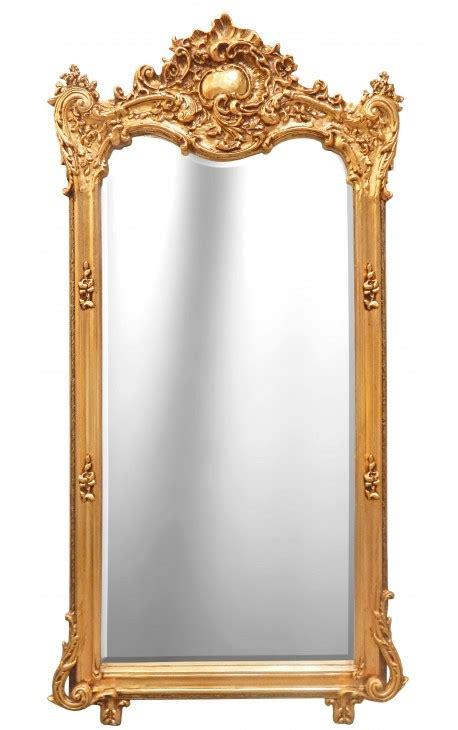 Grand Miroir Baroque by Grand Miroir Baroque Rectangulaire Dor 233