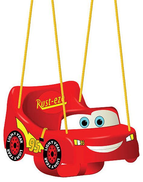 swing car video disney pixar s cars the movie toddler swing contemporary