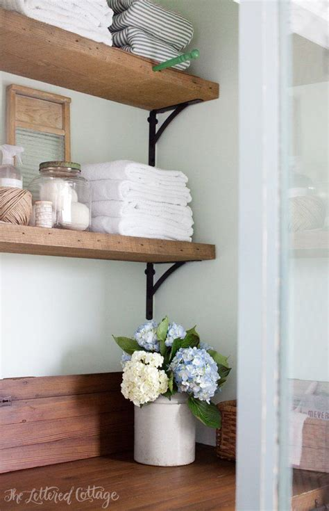 25 best ideas about laundry room shelves on