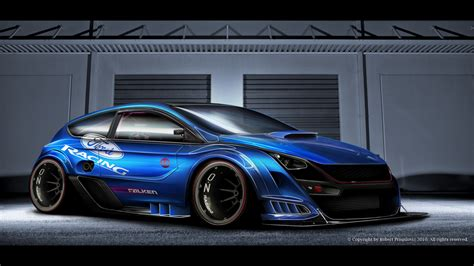 ford design in the ford focus rs limited edition by ribadesign on