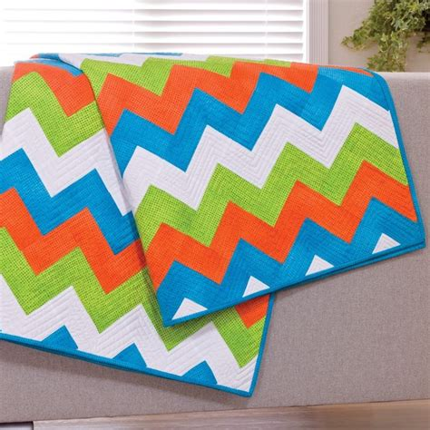 accuquilt pattern ideas cut time quilting chevron quilt pattern cutting die