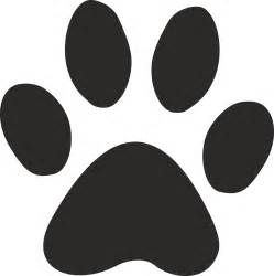 paw print template paw stencil related keywords suggestions paw stencil
