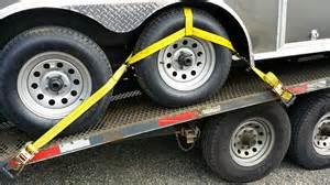 Trailer Tire Straps Car Hauler News New Rv And Trailer Tire Tie