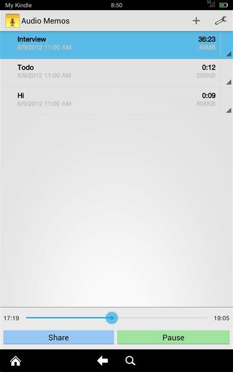 format audio pour android audio memos amazon fr appstore pour android
